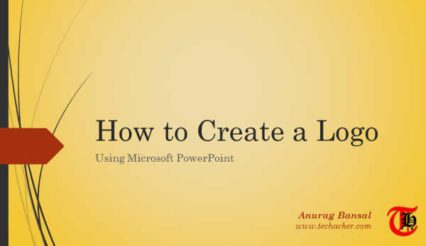 How to create a Logo using Microsoft PowerPoint?