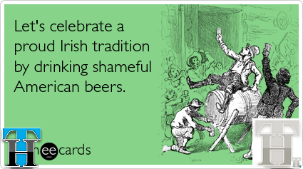 Share these 8 funny St. Patrick's Day Greetings today!