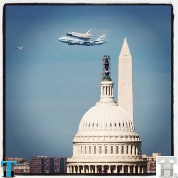 Bid farewell to NASA's Space Shuttle Discovery via Instagram photos