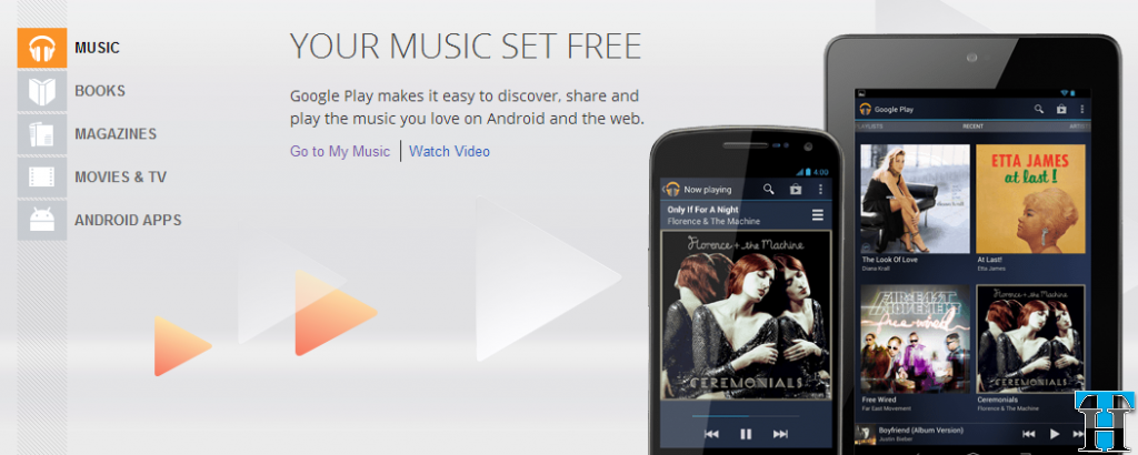 Google Music - Pandora Alternative
