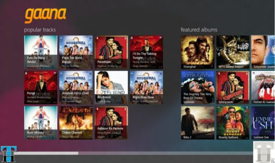 Gaana brings Bollywood music to Windows 8 before anyone else