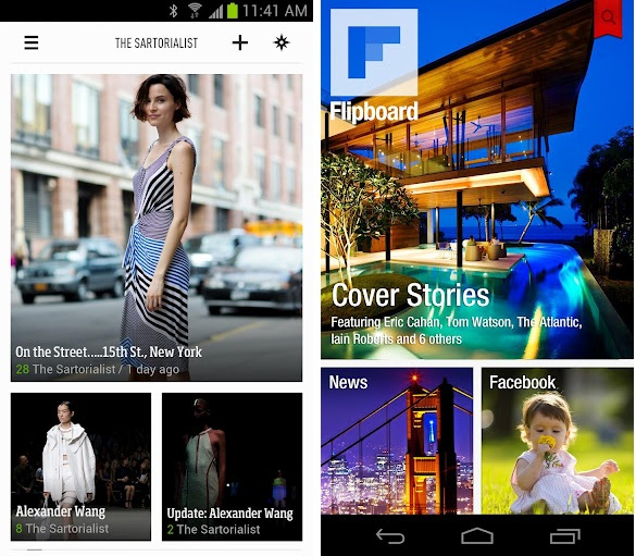 Feedly RSS vs Flipboard