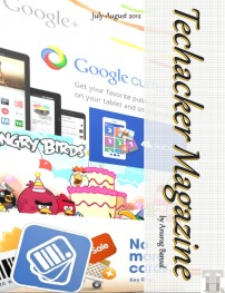 Techacker Magazine : July-August 2012 Issue is out – Download now