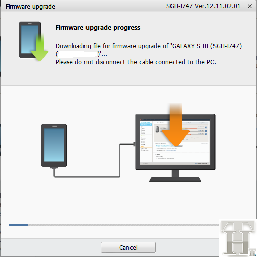 Downloading Jelly Bean Firmware Update