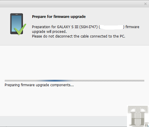 Prepare Galaxy SIII for Upgrade