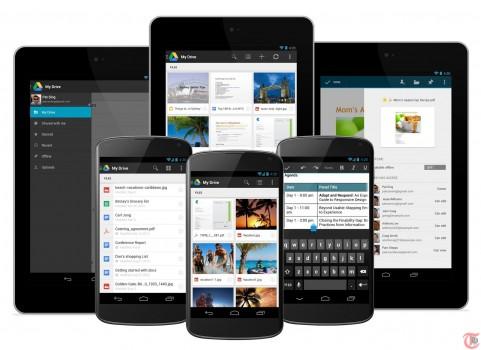 Google Drive Android Screenshots