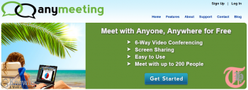 Free alternative to WebEx, GoToMeeting and others – AnyMeeting