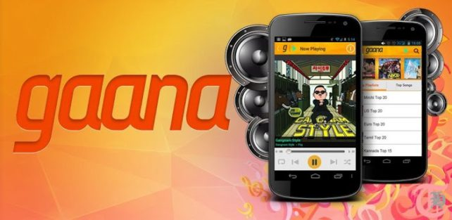 Gaana Android App Main