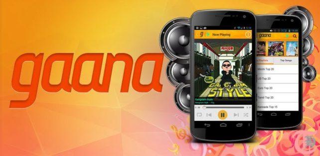 Gaana Android App Main
