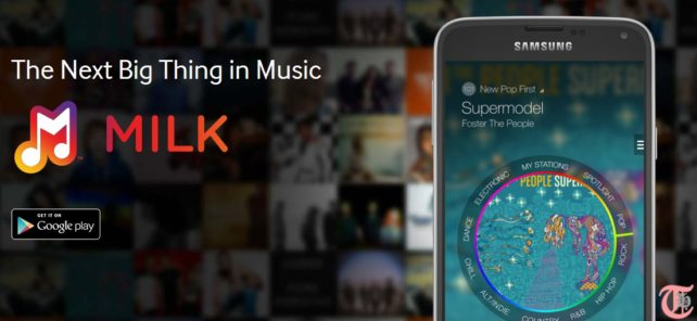 Samsung launches Milk Music, a Pandora like ad-free radio for Galaxy devices