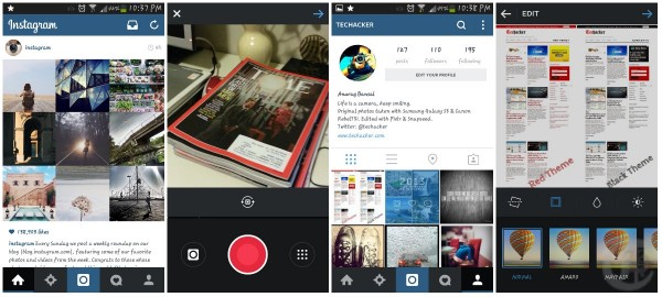 Instagram Android App Screenshots