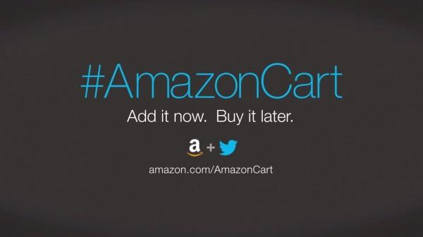 Shop on Amazon using Twitter with hashtag #AmazonCart