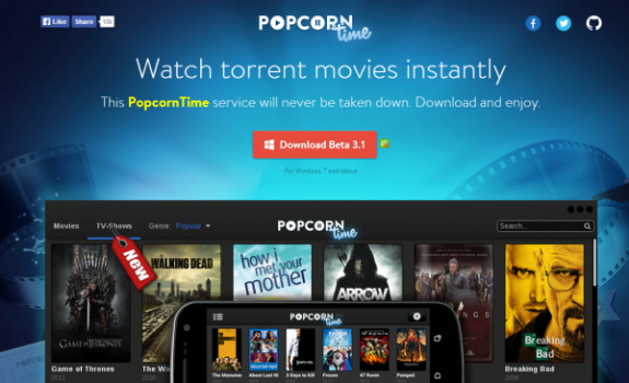 Popcorn Time App comes to Android