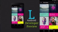Android L UI Example
