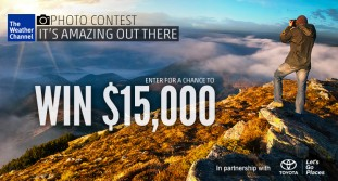 Win $15,000 with #ItsAmazingOutThere Photo Contest
