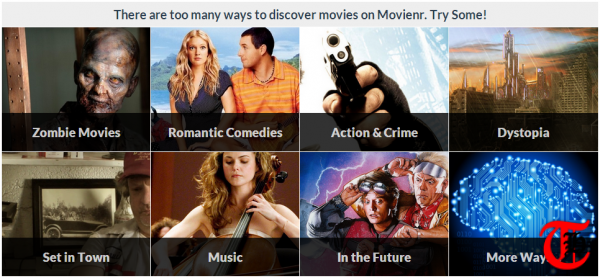 Movienr - Discover new movies based on genre