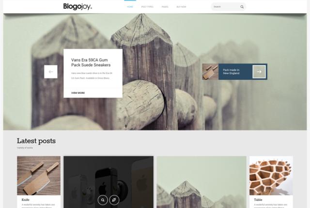 Blogojoy-WordPress Theme