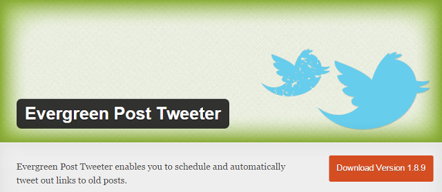 Evergreen Post Tweeter - WordPress Plugin