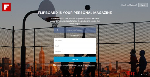 Flipboard launches on the Web – Yes, Finally!