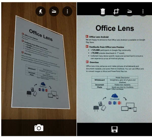 Office Lens Android gives you a perfect scanner - Techacker